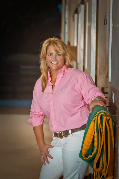 Professional polo player Sunny Hale