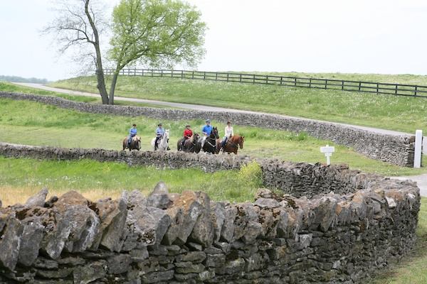 Shaker Village horse riding