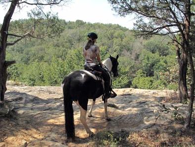 Shawnee National Forest illinois horseback riding