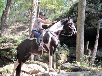 Shawnee National_Forest trail riding