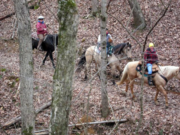 Shenandoah River State Park trail riding