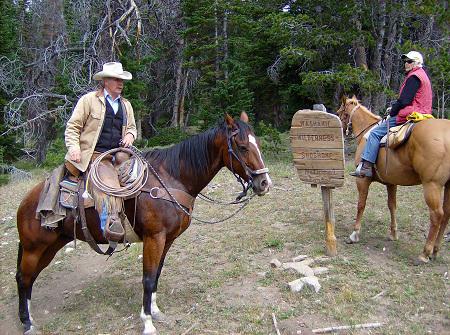 Shoshone National Forest horseback riding