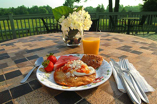 Southern Cross Guest Ranch breakfast and food