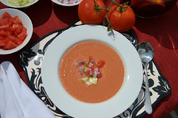 Dawn Harris Brown's Gazpacho Andaluz