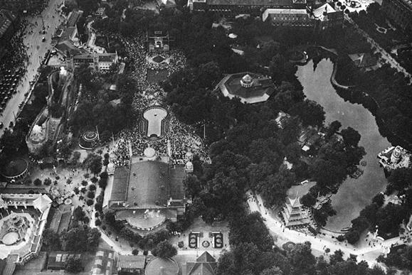 tivoli gardens cophenhagen 1922
