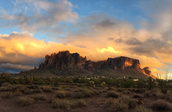 Superstition Mountain wilderness arizona