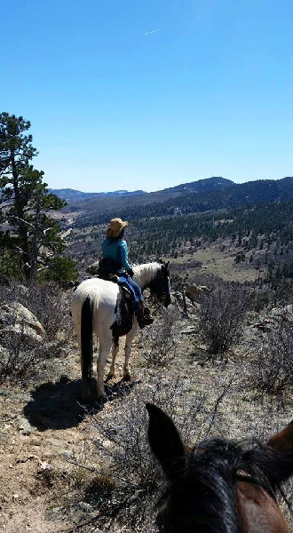 Sylvan Dale Guest Ranch riding Colorado