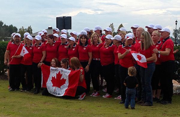 Team Canada at WEG.