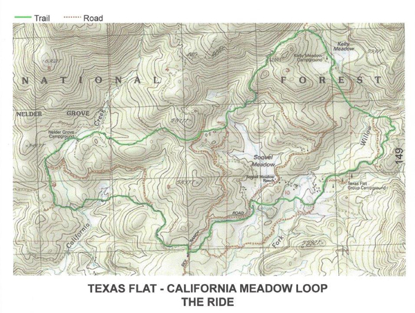 texas flat horse trails map california