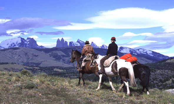 Chile horse riding Patagonia