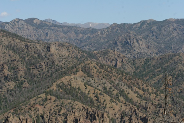 Shoshone National Forest trails
