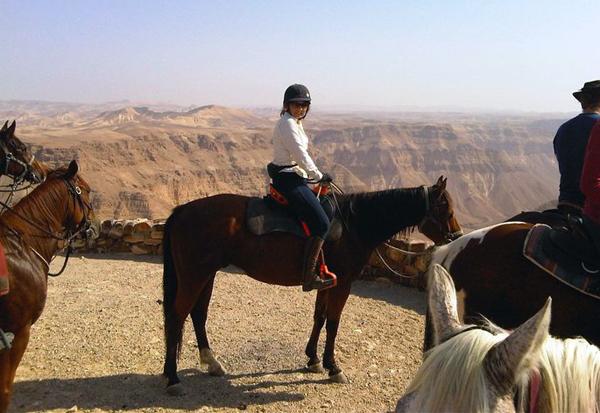Tzeelin Canyon horseback israel