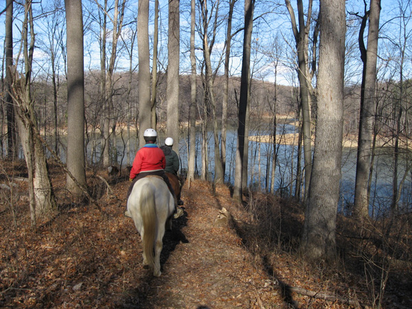 Rocky Gorge Reservoir Maryland Trail Ride
