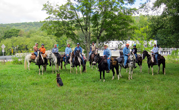 West Virginia horseback