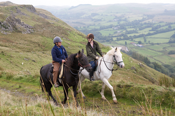 Cambrian mountains horse riding
