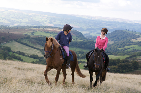 Wales brecon beacons horse riding
