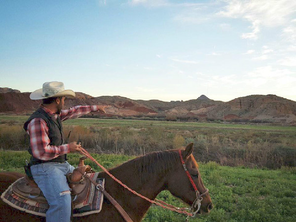 Wild West Horseback Adventures Las Vegas trails