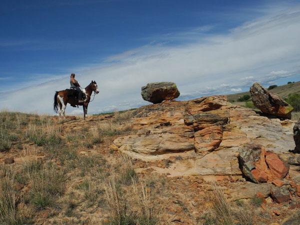 Kanopolis State Park trail riding horses