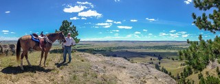 Trail Riding in Nebraska: Fort Robinson State Park