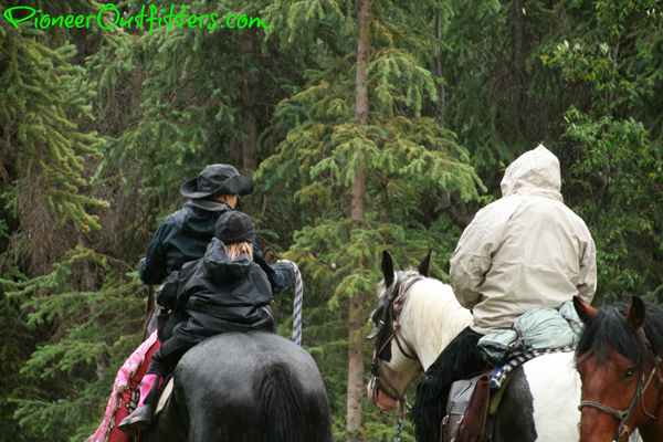 alaska kids horseback riding