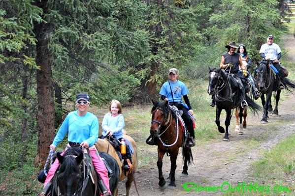 alaska horse riding pioneer