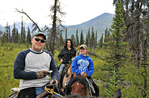 alaska horseback riding chisana