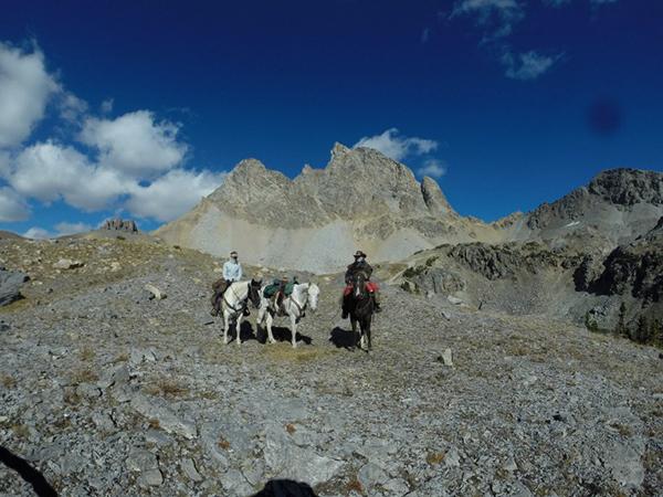 Alaska horseback riding Buck Mountain Pass