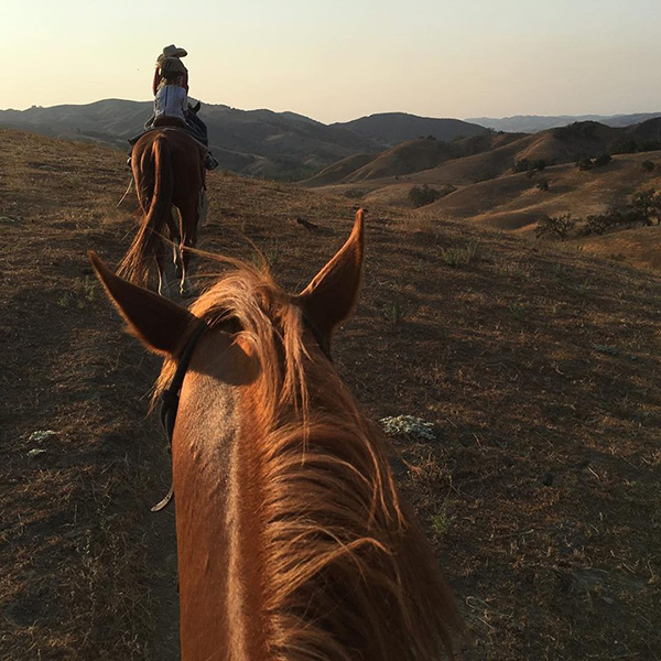 Alisal ranch valentines horseback