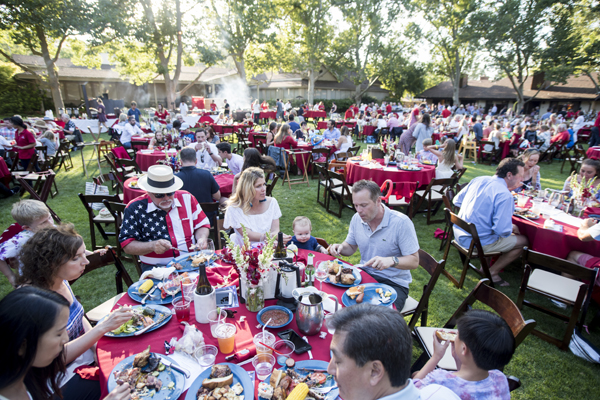 alisal guest ranch fourth of july bbq