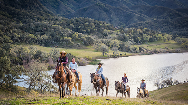alisal guest ranch california horseback