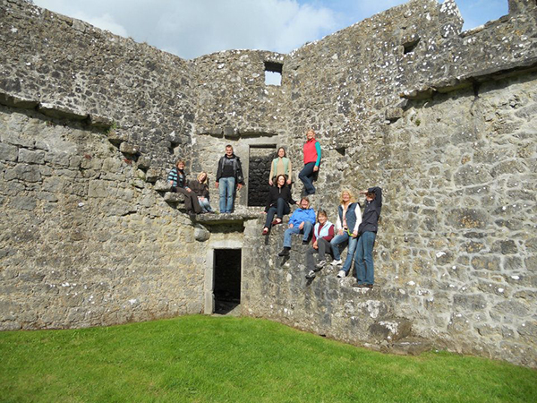 An Sibin Castles Horseback Ireland