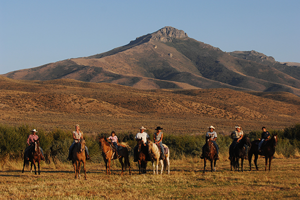 AQHA trail rides equitrekking