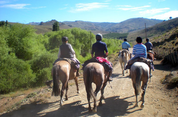 Argentina to Chile horse riding holidays