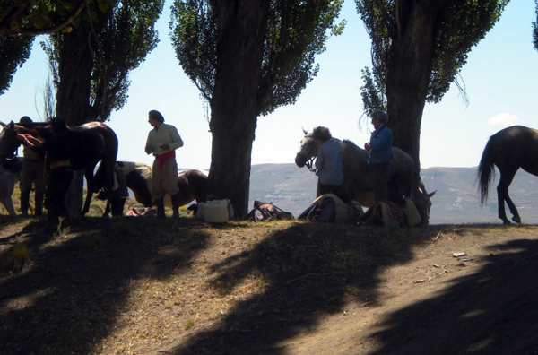 Argentina horse riding vacations estancia