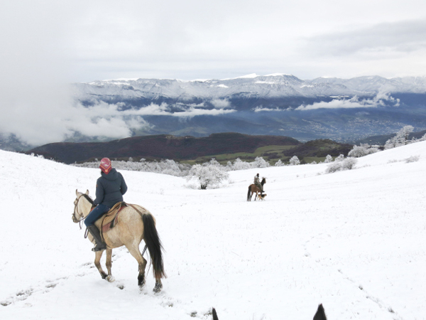 Armenia Horseback Riding Views of Spring