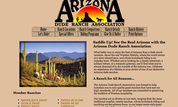 Arizona dude ranchers association