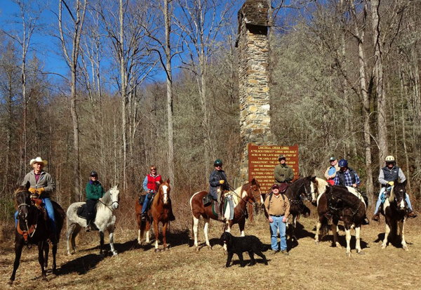 back country horsemen of north carolina pisgah