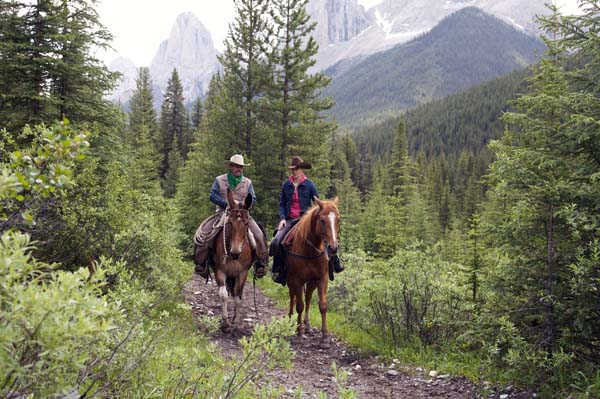 Banff Pack Trip