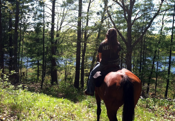 back country horse trails wisconsin