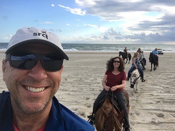 horseback riding beach nc