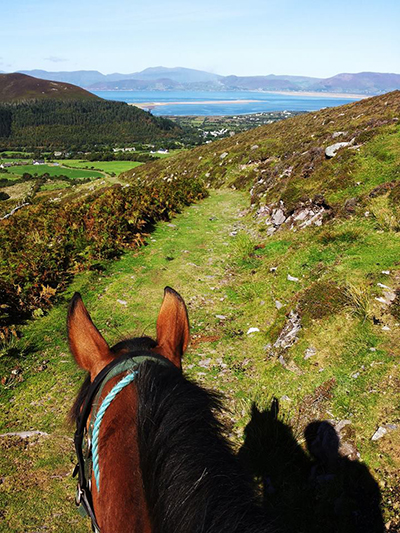 between the ears horseback Ireland Ring of Kerry
