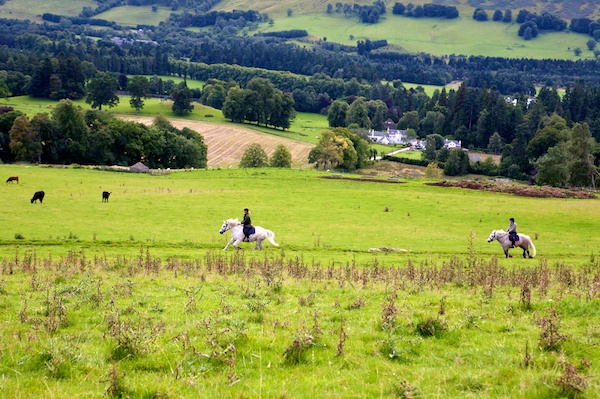 Blair castle pony trek
