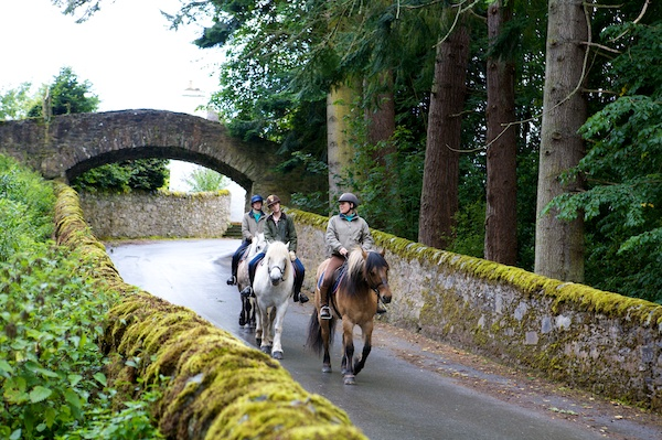 Blair Castle horse riding