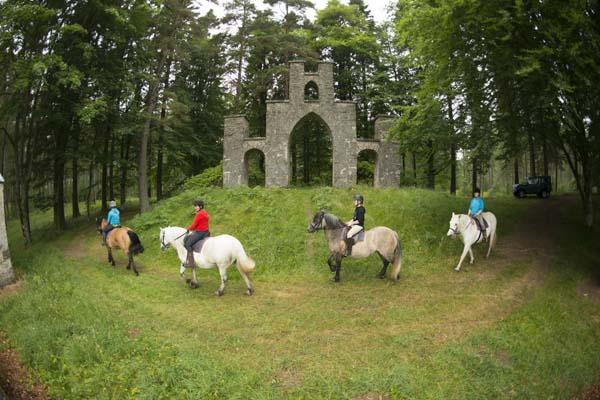 Blair Castle Pony Trekking
