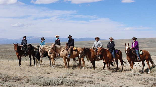 Blue Sky Sage Horseback Adventures Wyoming