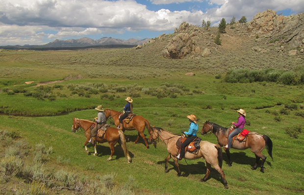Blue Sky Sage Horseback Riding Vacations