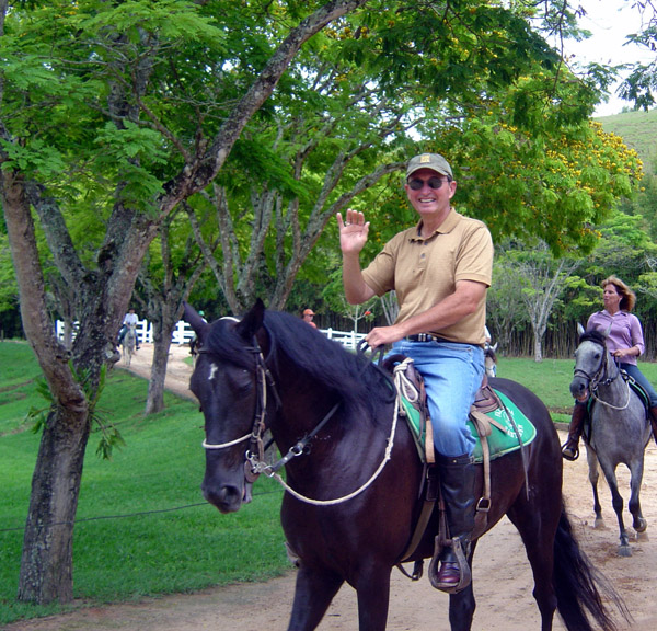 Brazil horse riding