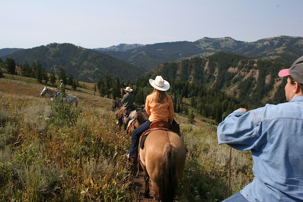 Bridger Teton horse riding