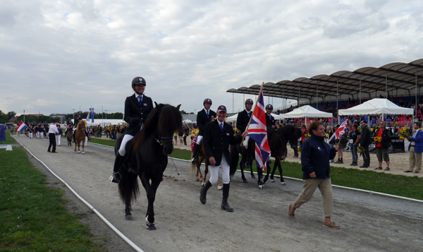 british team icelandic horse world championships