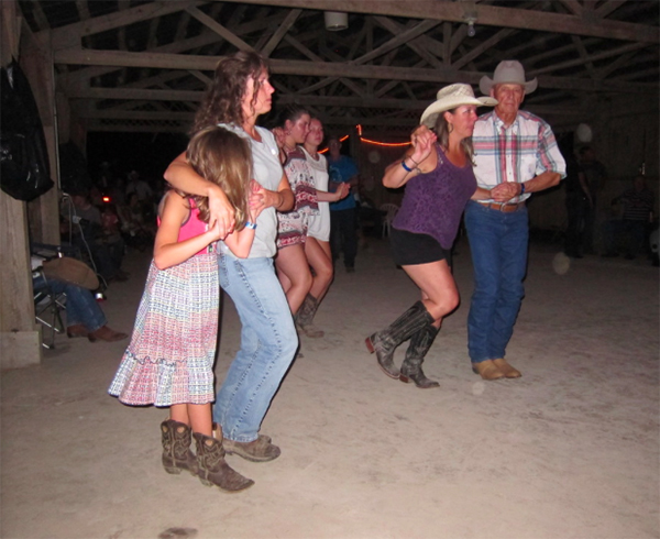 Buffalo River Country dancing tennessee
